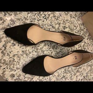 H&M black kitten heels